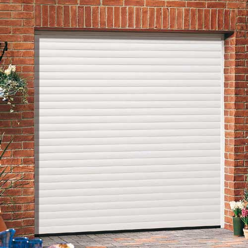 Roller Shutter Garage Door - White